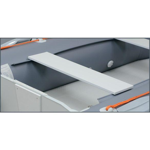 Ülés 76х20 cm  (rétegelt lemez) КМ-200-КМ-280 világos szürke