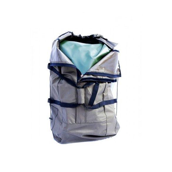 Gumicsónak hordozó hátizsák