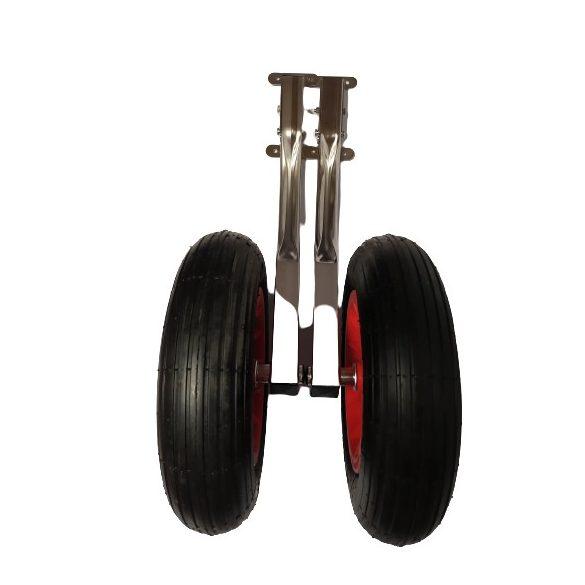 Rozsdamentes acél szállító kerék DW022
