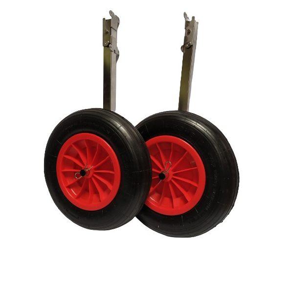 Rozsdamentes acél szállító kerék DW023