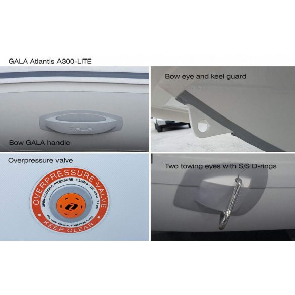 Gumicsónak Gala A-300-RIB