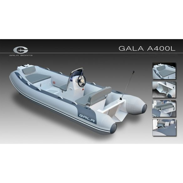 Gumicsónak Gala A-400L-RIB