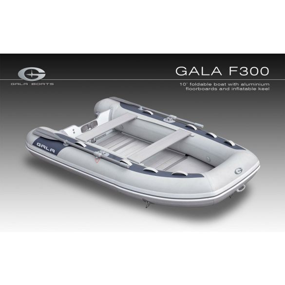 Gumicsónak Gala F300-RIB