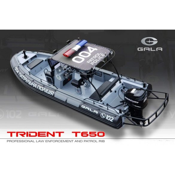 Gumicsónak Gala T650-RIB