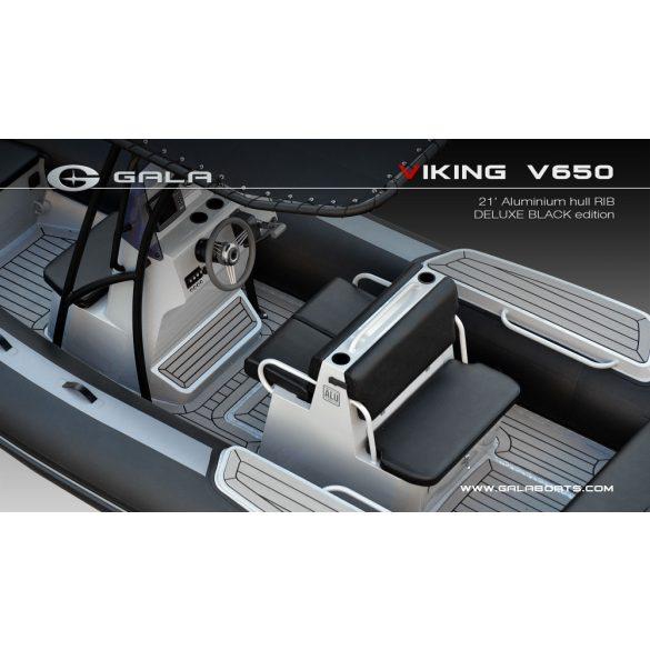 Gumicsónak Gala V-650-RIB