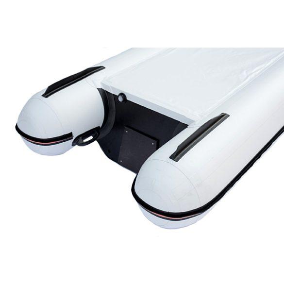 Kolibri KM-390C fehér felfújható kenu teljes merev könyvpadlóval