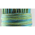 Polipropilén fonott kötél kék sárga