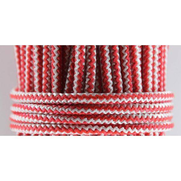 Polipropilén fonott kötél piros
