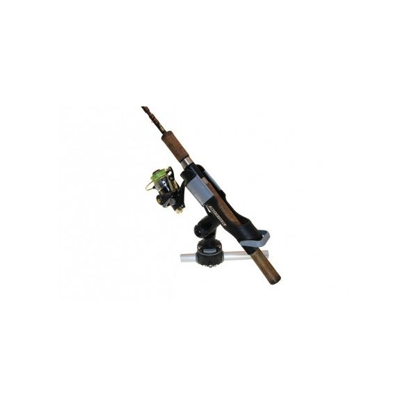 Csőre szerelhető csatlakozó Ø 22, 25 mm + Horgászbot tartó