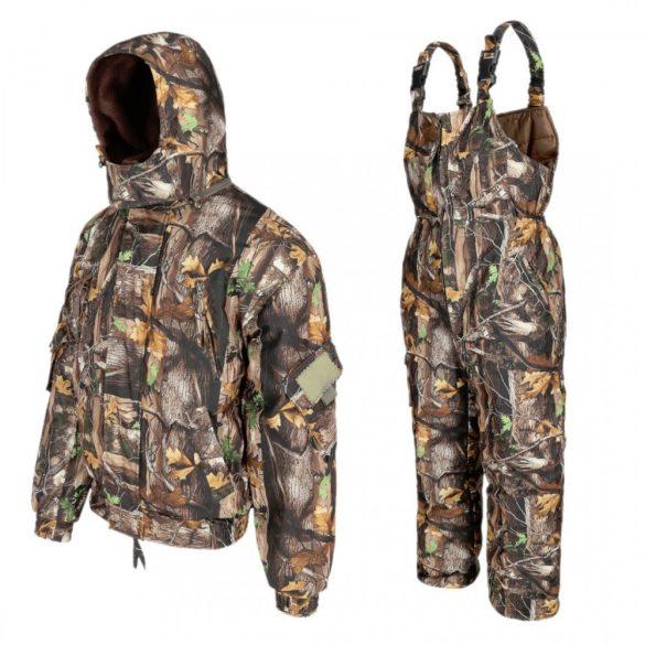 Fenyőerdő téli szett, dzseki +  vállpántos nadrág -25 ° C-ig 52-54 (XL)