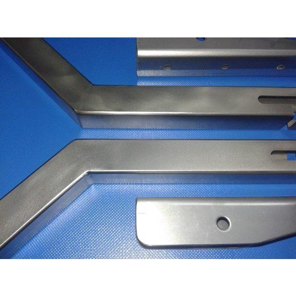 Rozsdamentes acél tömör szállító kerék