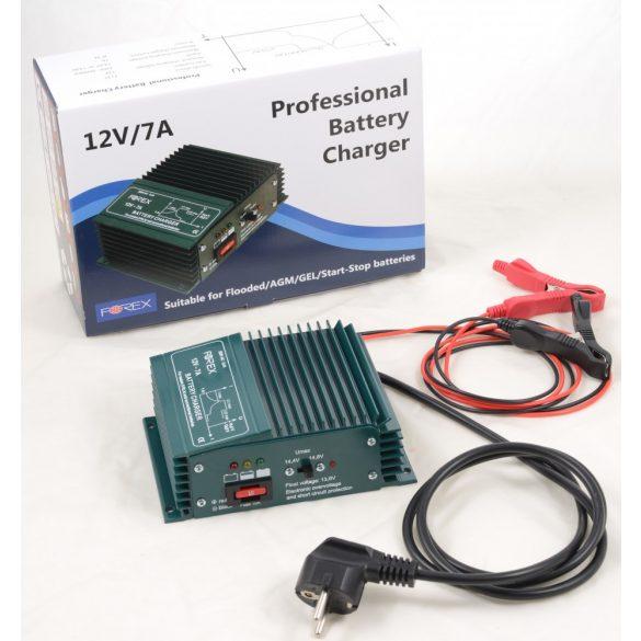 Forex T127 akkumulátor töltő