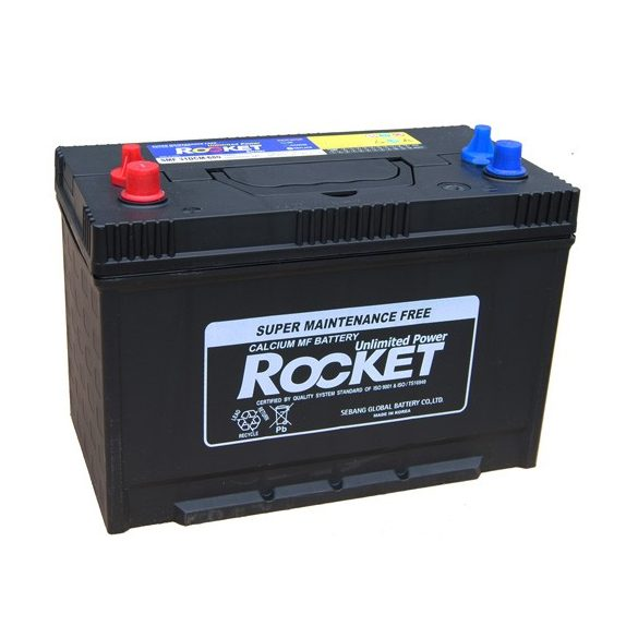 Csónakmotor munka akkumulátor 110 Ah Rocket DCM31-680