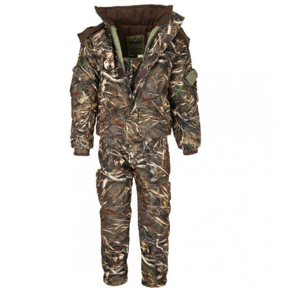 Száraz Nád téli szett, dzseki +  vállpántos nadrág -25 ° C-ig 64-66 (4XL)