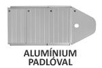 Oldalmerevítős alumínium padlóval