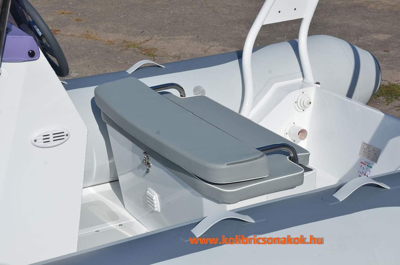 S-03 dupla ülés, összecsukható háttámlával