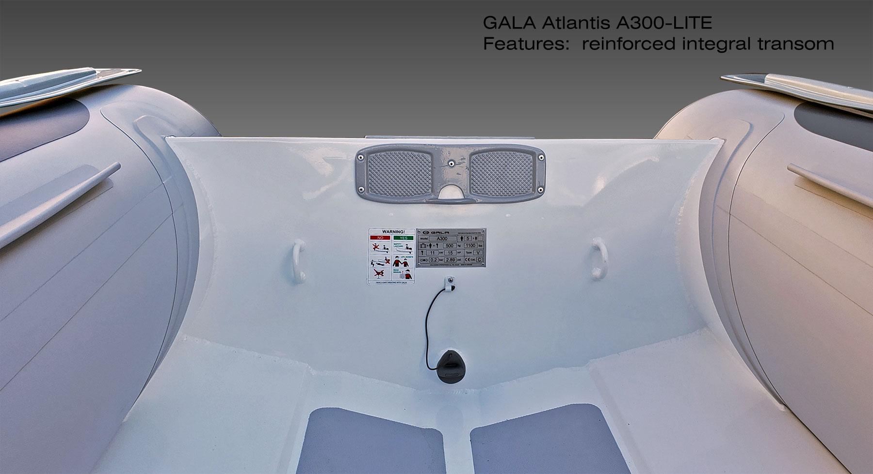 Gala A-300 RIB felfújható hajó