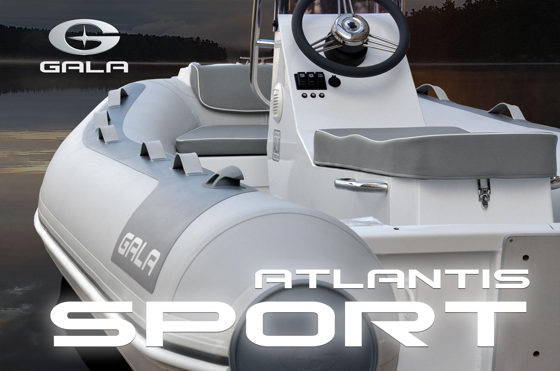 Gala RIB ATLANTIS SPORT felfújható hajó