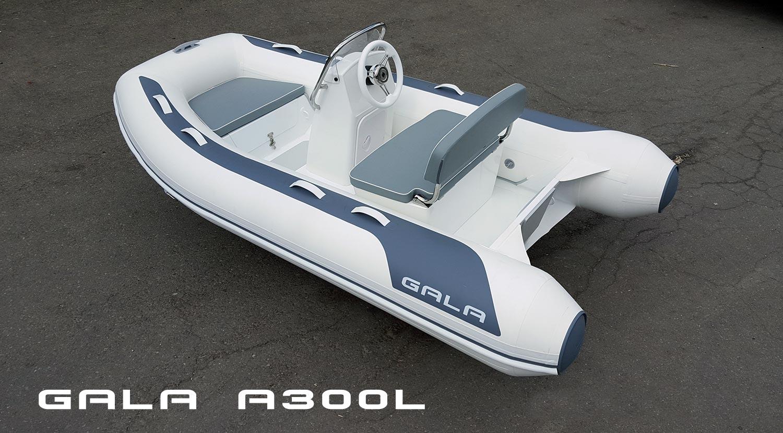 Gala A-300-L RIB felfújható hajó