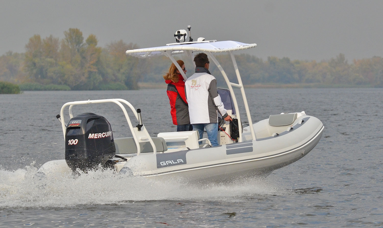 Gala V-500 RIB felfújható hajó