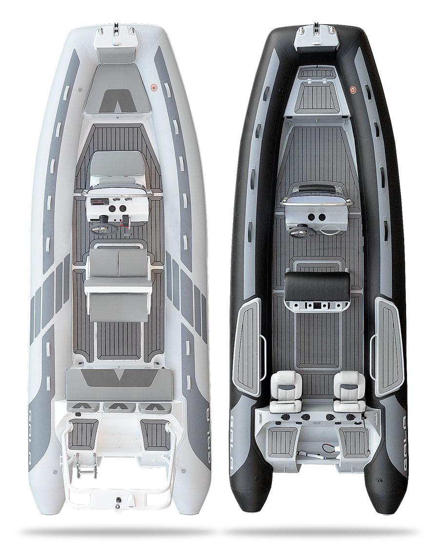 Gala V-650 RIB felfújható hajó