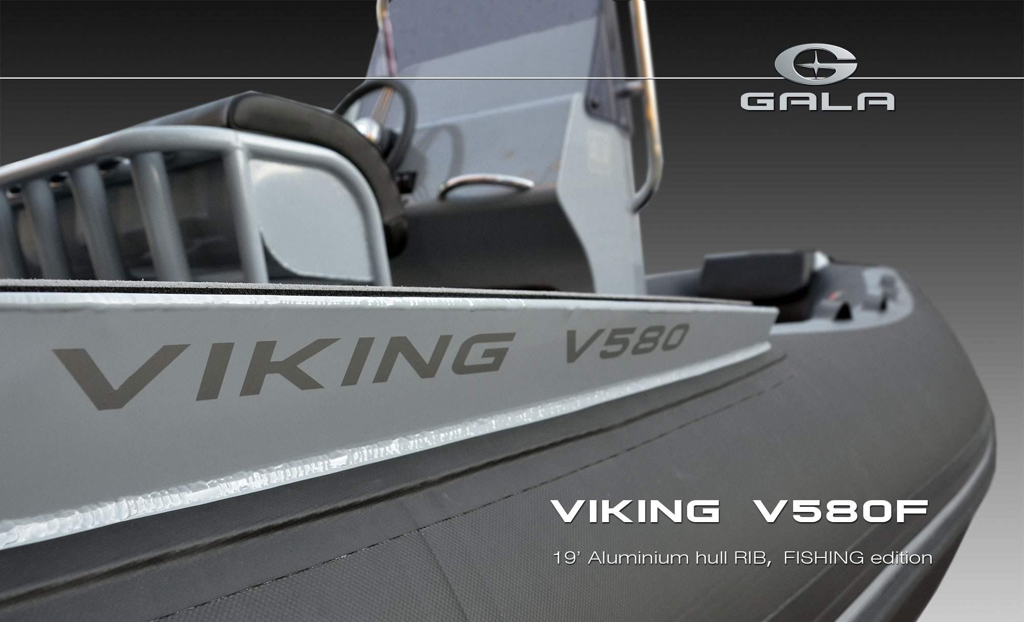 Gala V-580F RIB felfújható hajó