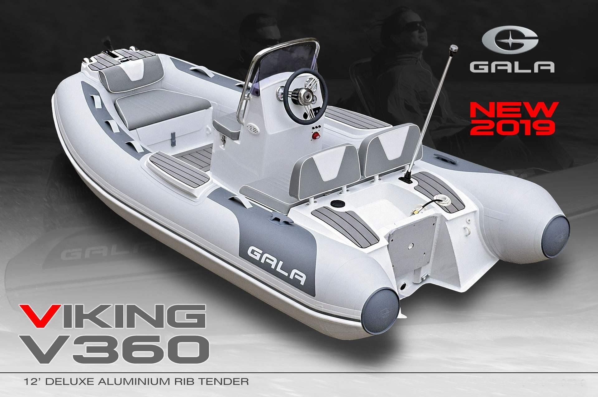 Gala V-360 RIB felfújható hajó
