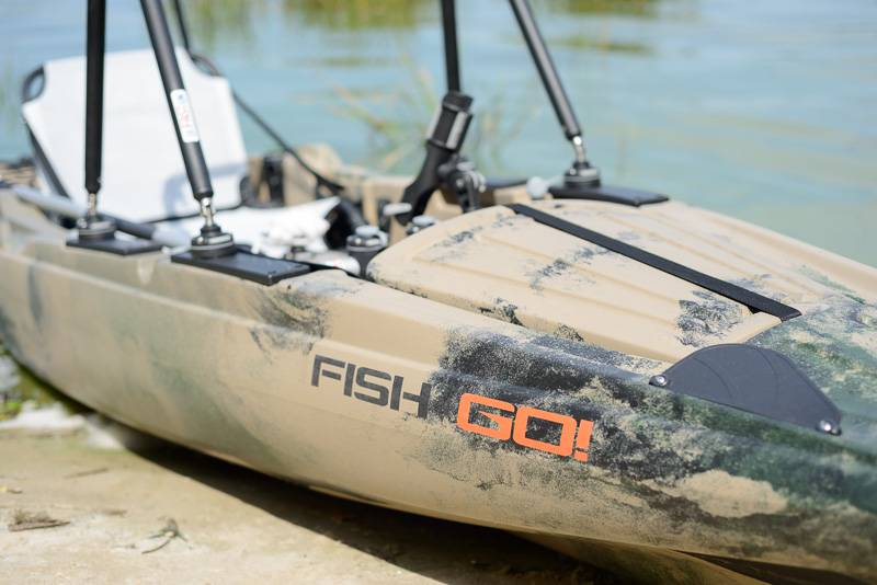 Kolibri Fish-n-go műanyag  kajak