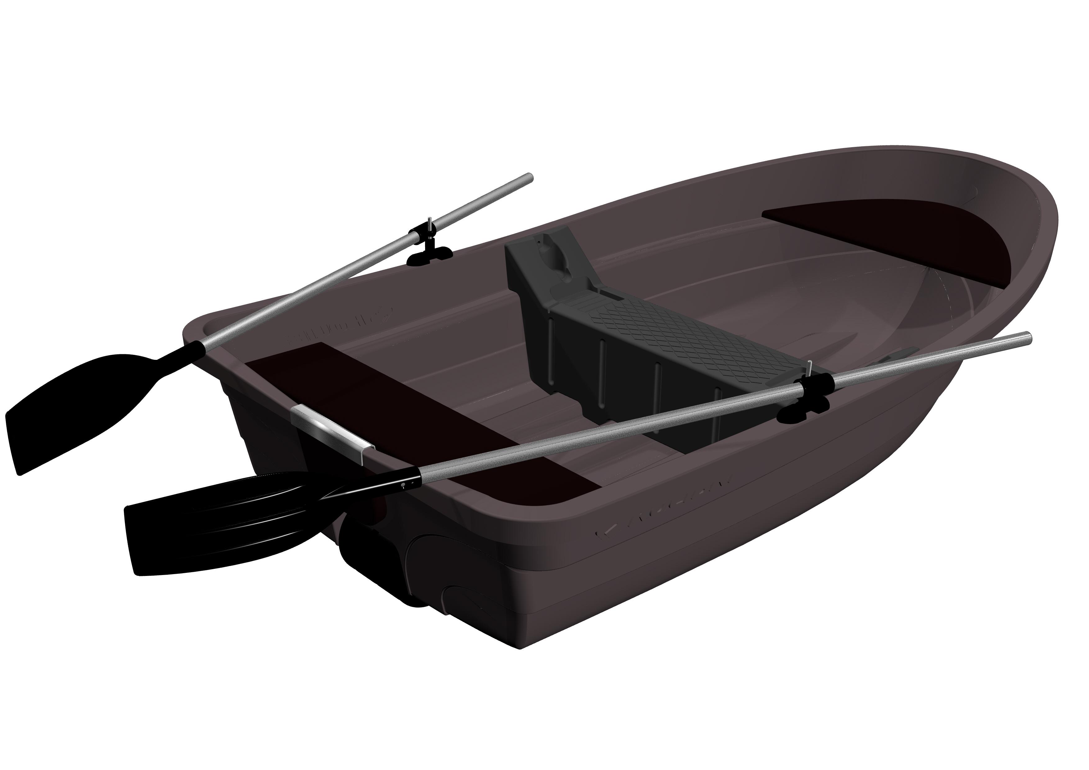 Kolibri RKM-250 műanyag balatoni csónak